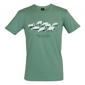 Meet the flockers Mens T-Shirt - Global Culture