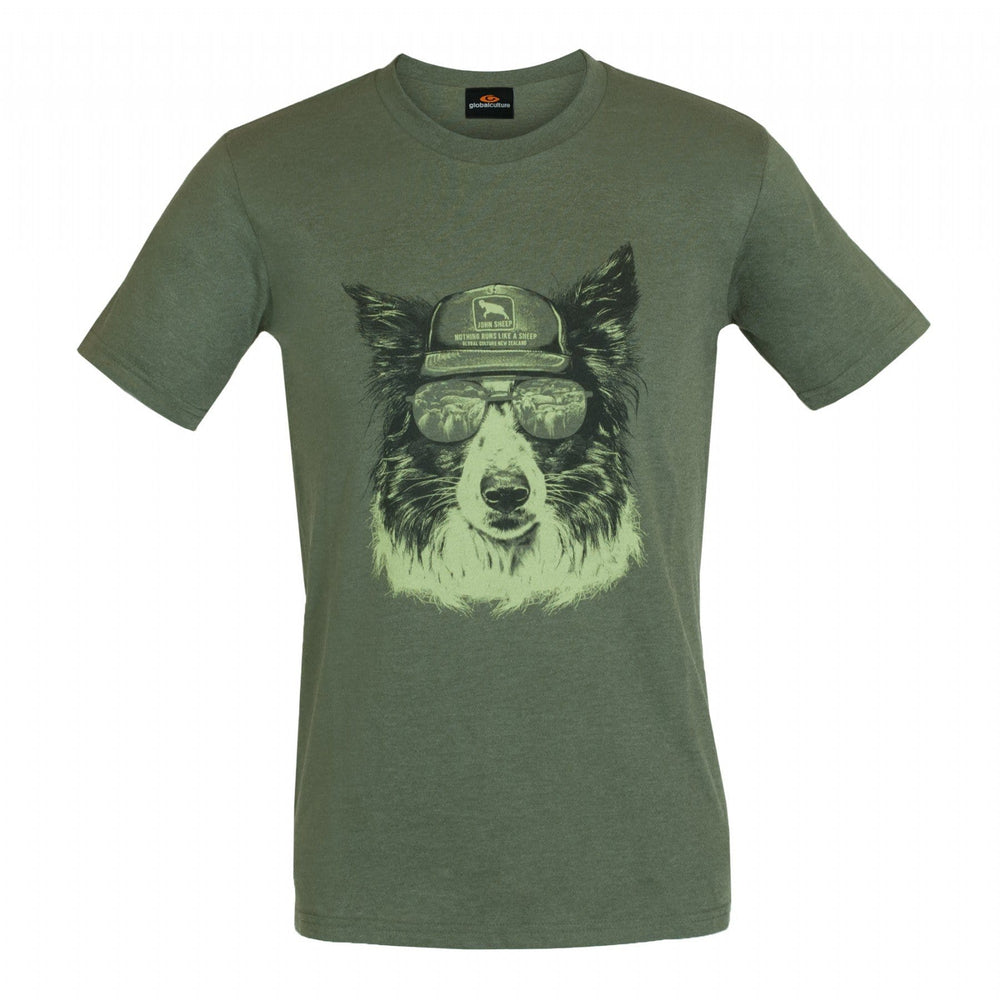 Sheep Dog Mens T-Shirt - Global Culture