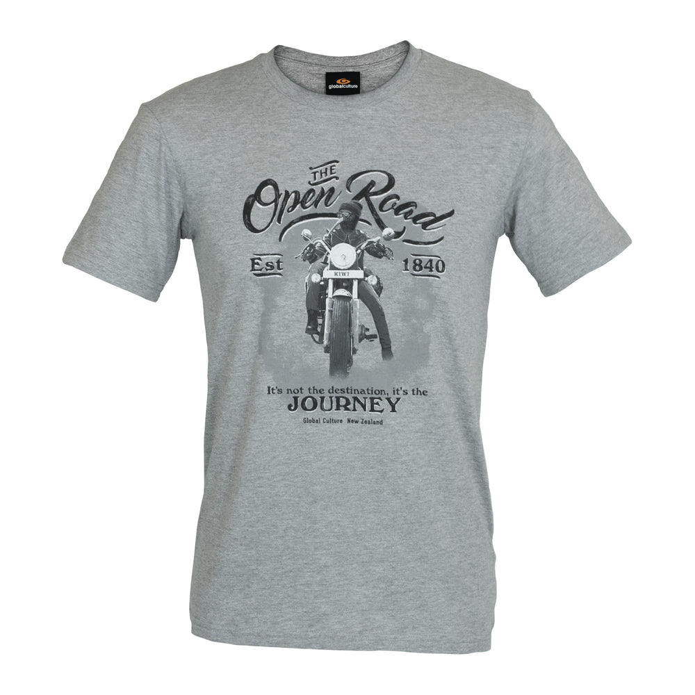 Open Road III Mens T-Shirt - Global Culture