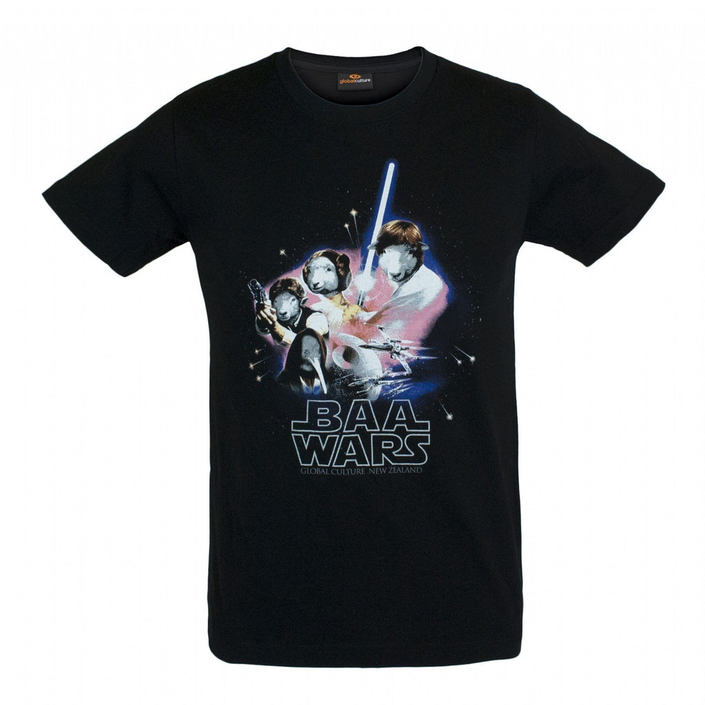 Baa Wars Mens T-Shirt - Global Culture