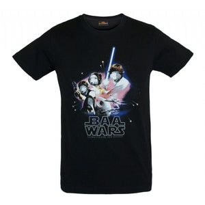 Load image into Gallery viewer, Baa Wars Mens T-Shirt - Global Culture