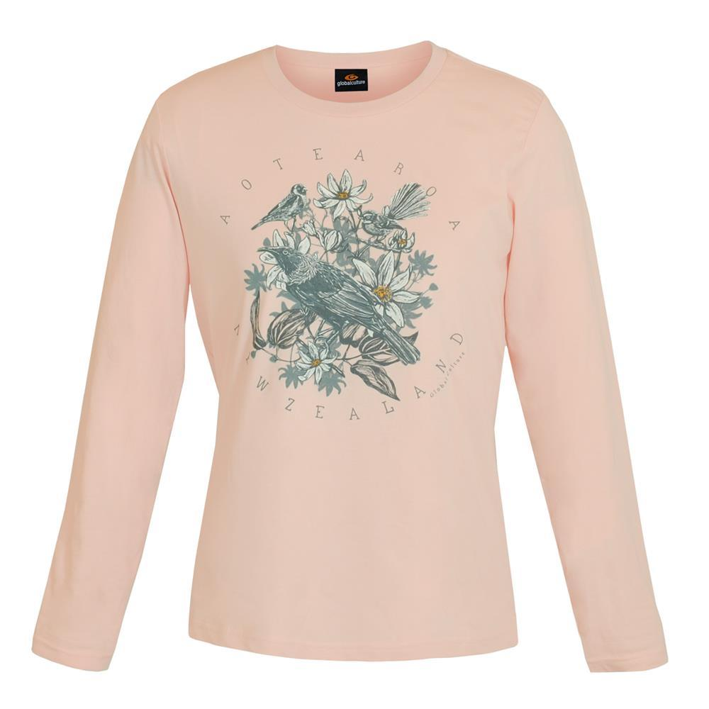 Aotea Nature Womens L/S T-Shirt - Global Culture