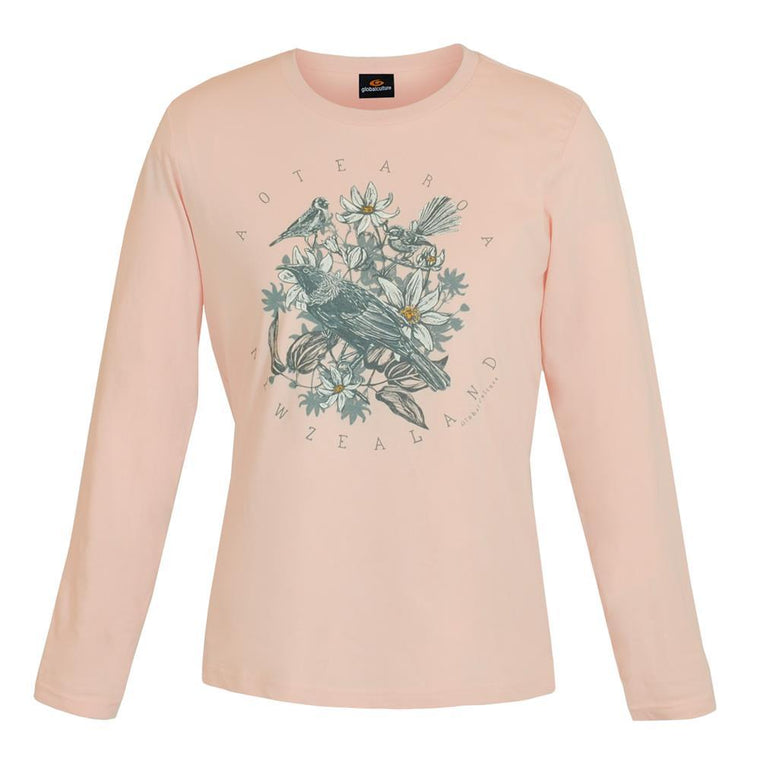 Aotea Nature Womens L/S T-Shirt