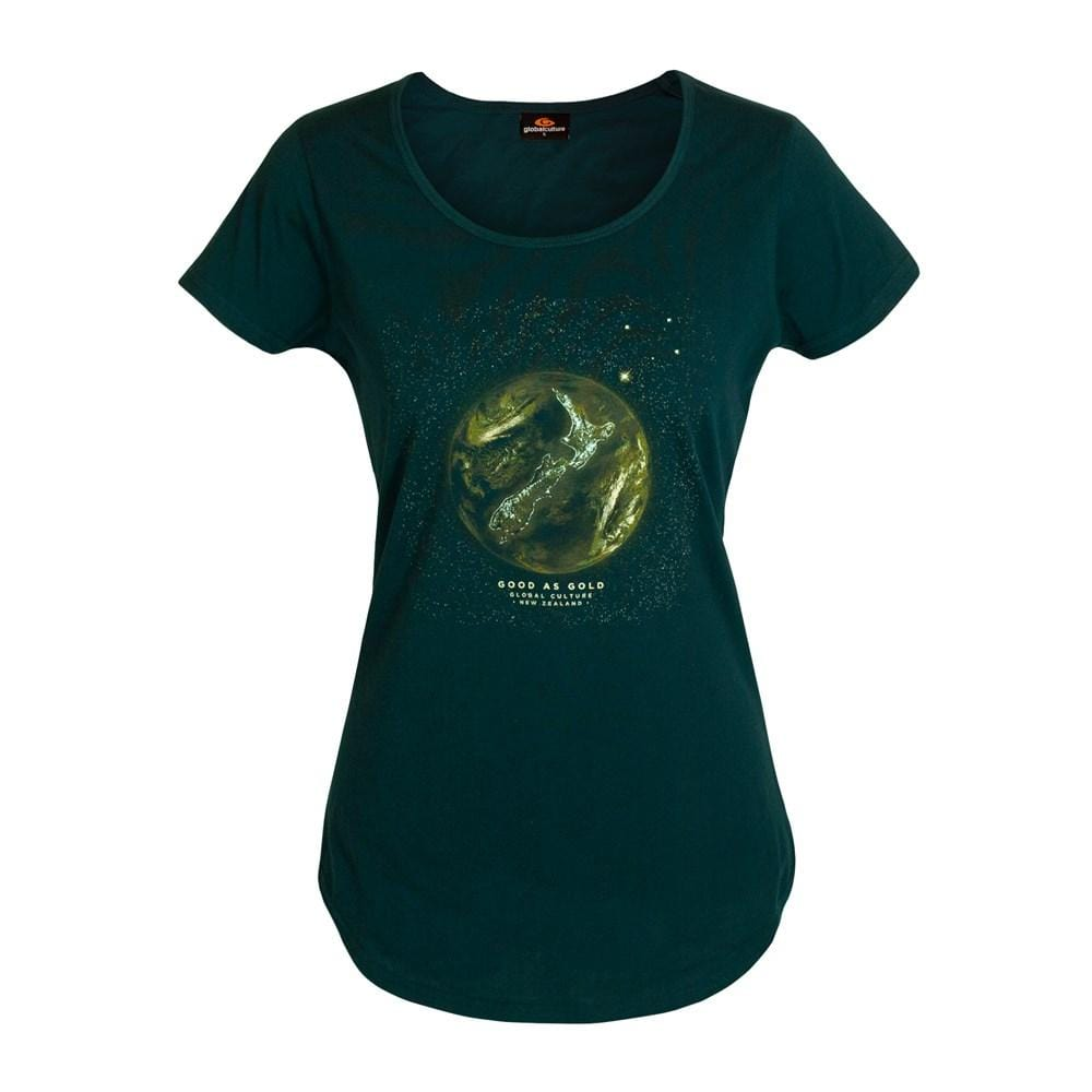 Good as Gold Womens T-Shirt - Global Culture
