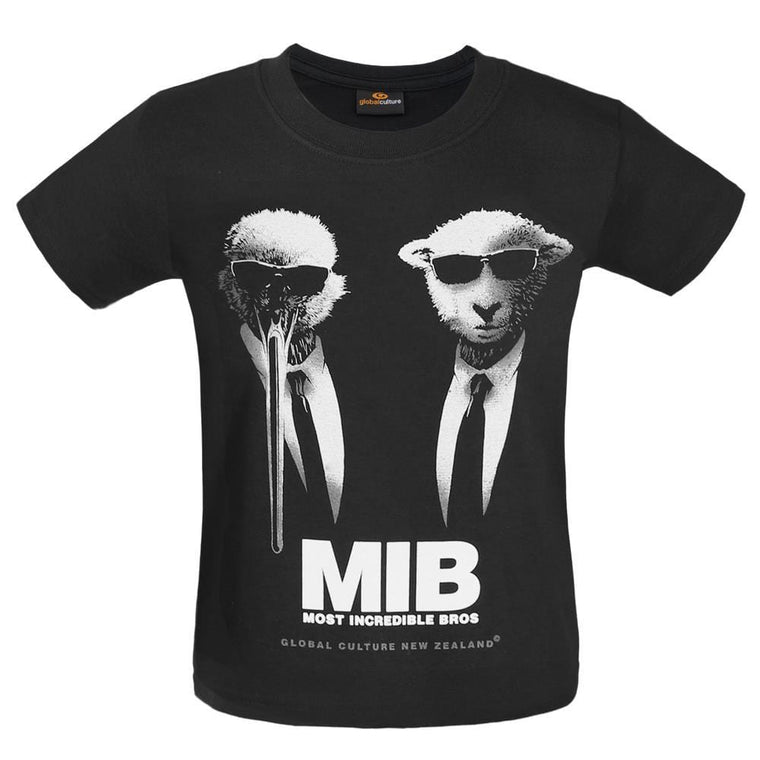 MIB Kids T-Shirt - Black