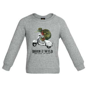 Load image into Gallery viewer, Born to be wild Kids Sweatshirt - Global Culture