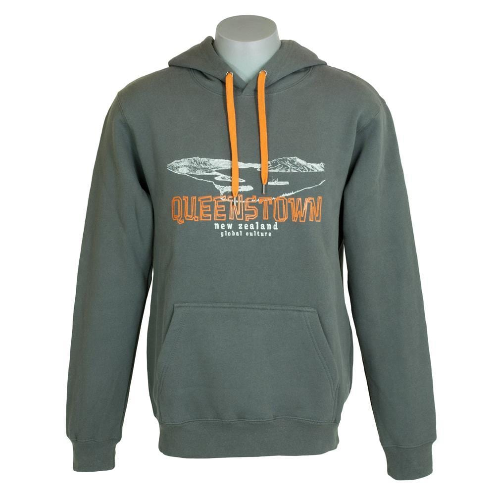 Queenstown Mens Hoodie - Global Culture