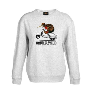 Born to be wild Womens Sweatshirt - Global Culture