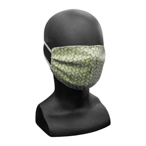 Basket Weave Cotton Face Mask