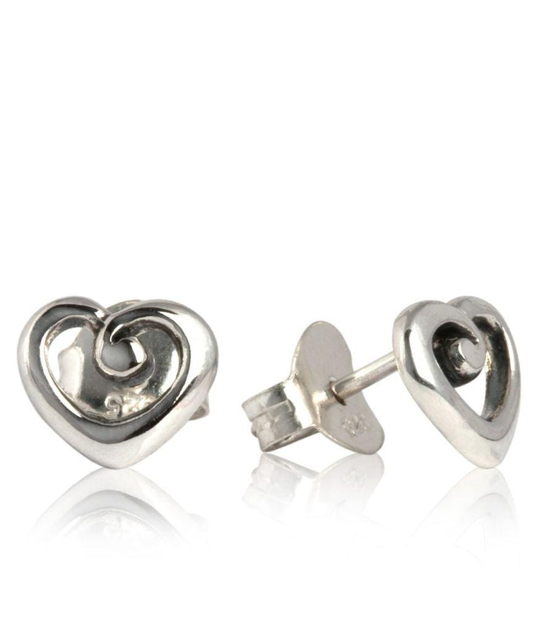 Heart Of NZ Earrings