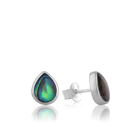 Treasured Paua Stud Earrings - Global Culture