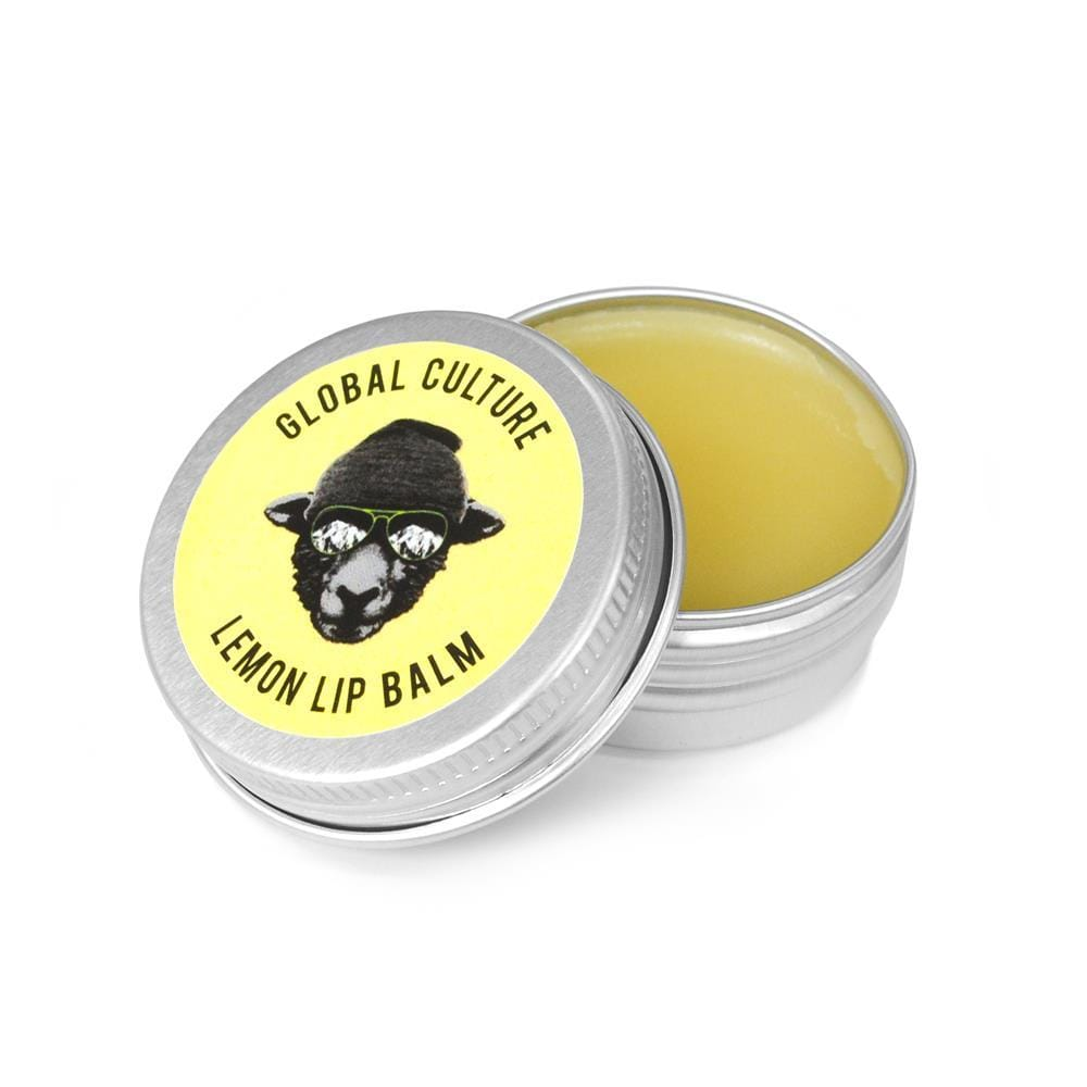 Lemon Lip Balm Tin - Global Culture