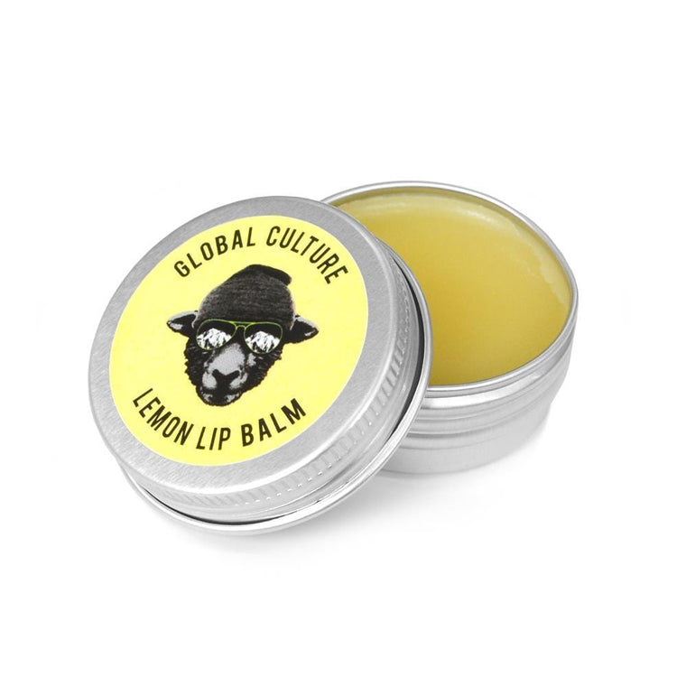 Lemon Lip Balm Tin