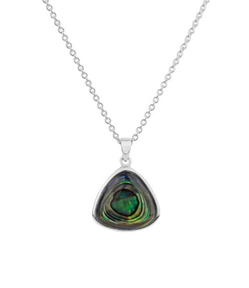 Paua Necklace Statement - Global Culture
