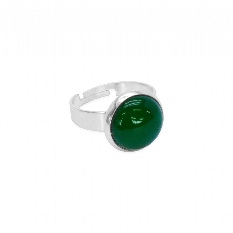 NZ Greenstone Adjustable Ring