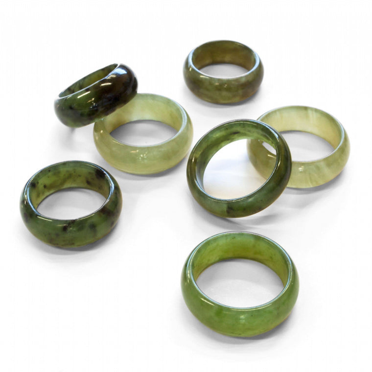 Jade 8mm Ring