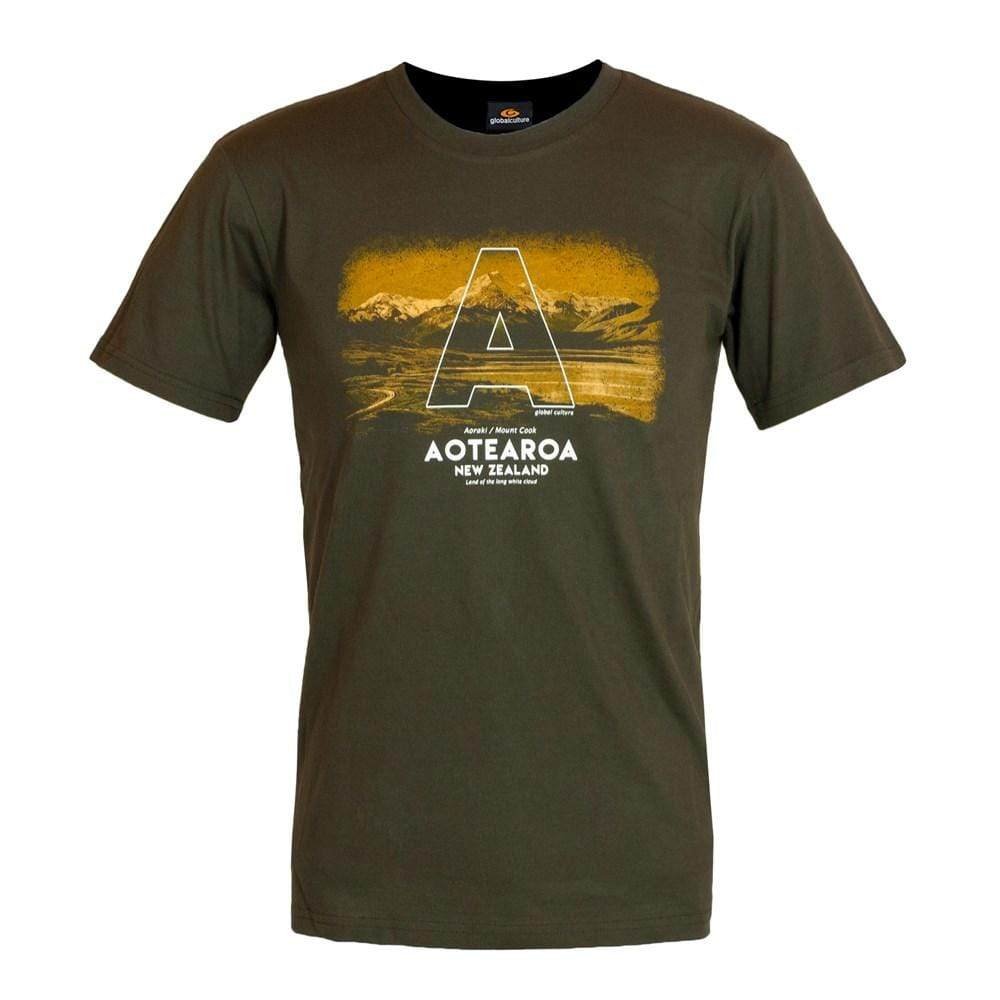 Aotearoa Mens T-Shirt - Global Culture