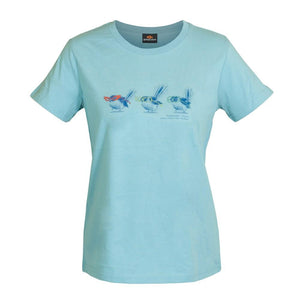 Load image into Gallery viewer, Fantail Shades Womens T-Shirt