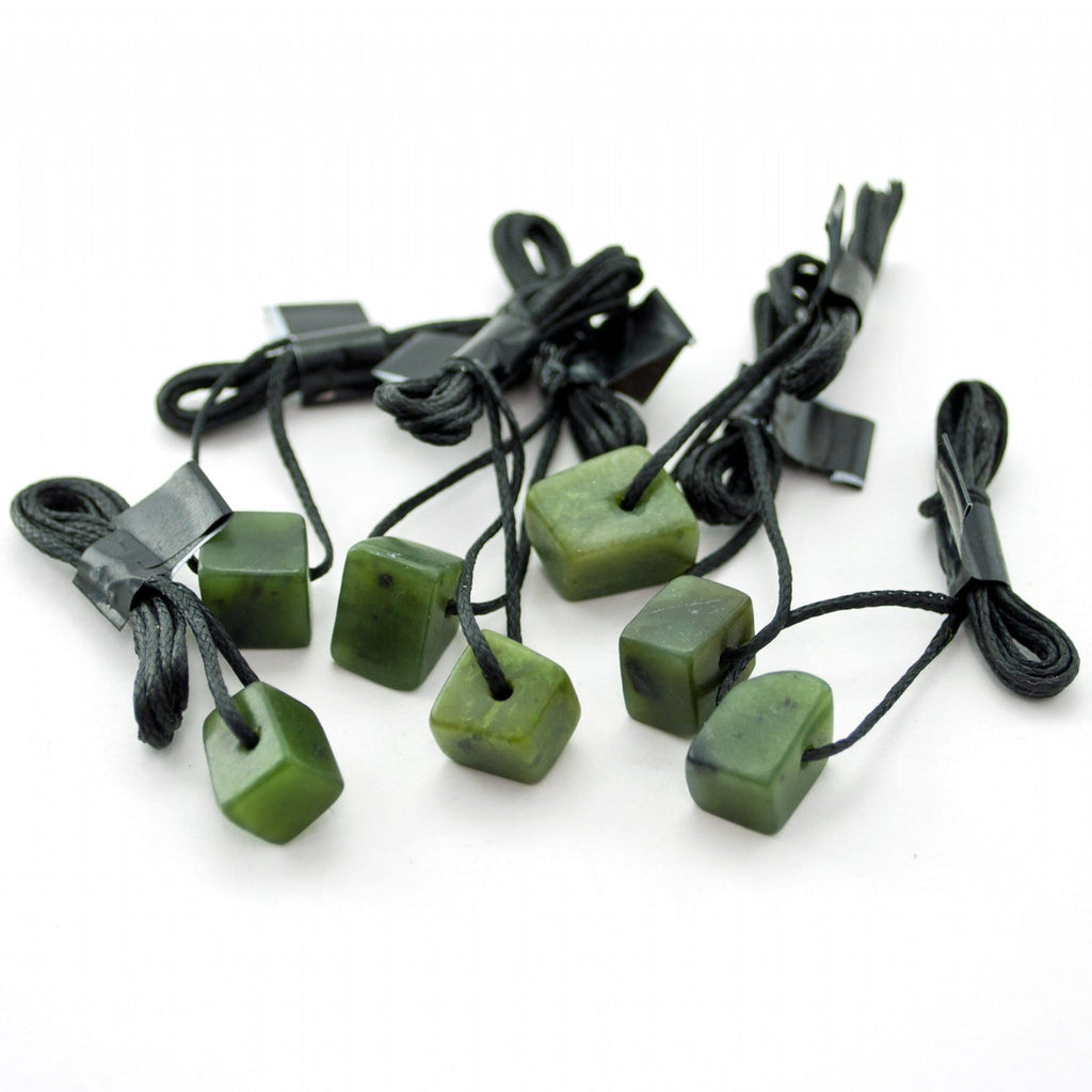 Greenstone Pendant on Cord - Global Culture
