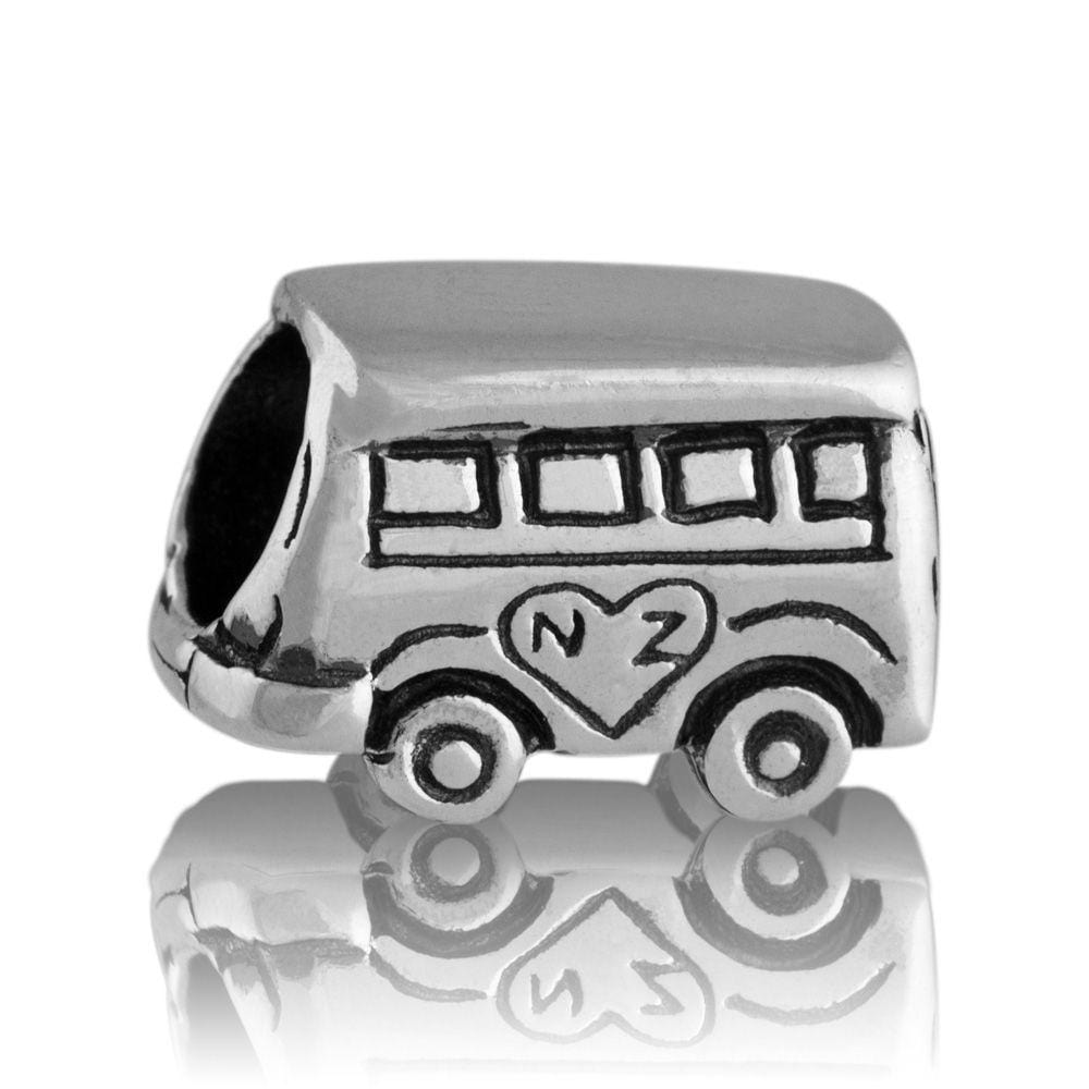 Kombi Van Silver Charm - Global Culture
