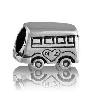 Load image into Gallery viewer, Kombi Van Silver Charm - Global Culture