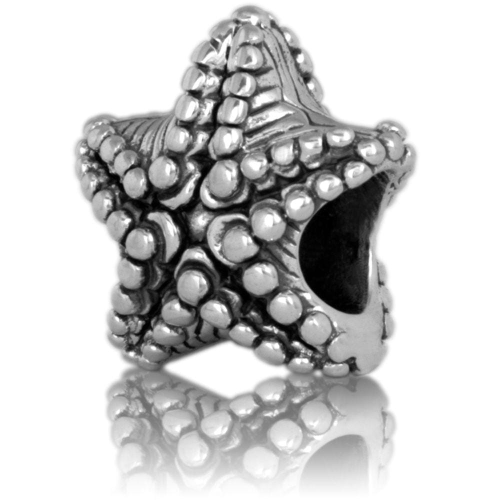 Starfish Silver Charm - Global Culture