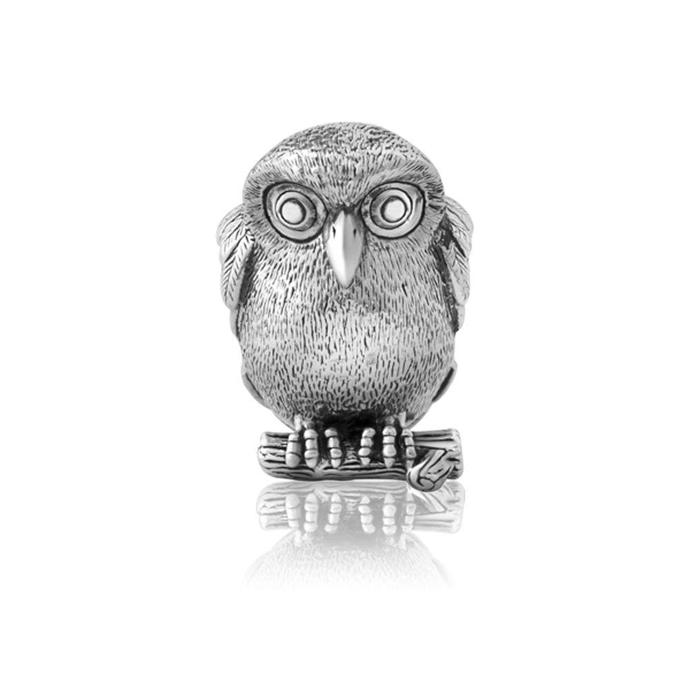 Ruru (Morepork) Silver Charm - Global Culture