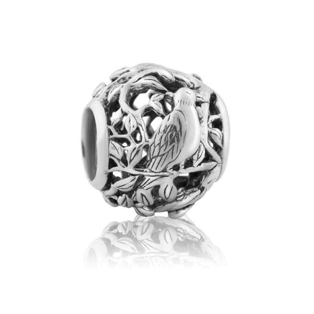 Majestic Tui (Confidence) Silver Charm - Global Culture