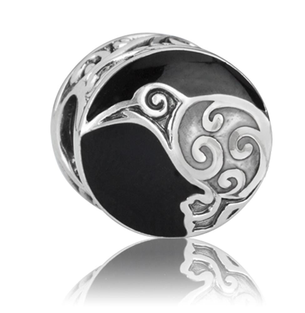 Load image into Gallery viewer, Aotearoas kiwi Silver Charm - Global Culture