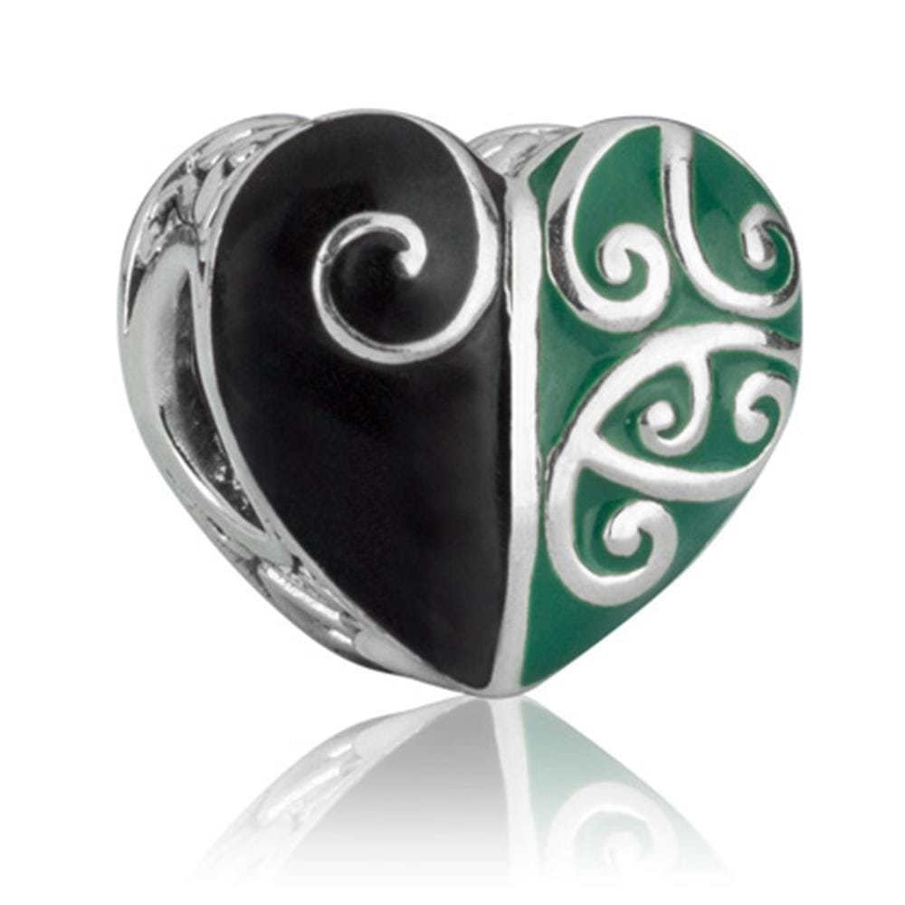 Heart of the Forest Silver Charm - Global Culture