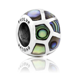 Load image into Gallery viewer, Treasured Paua Silver Charm - Global Culture