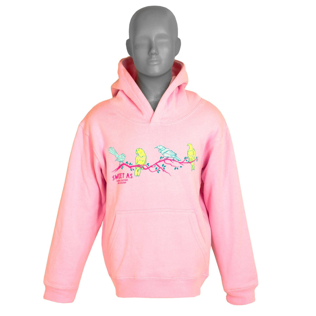 Sweet As Birds Kids Hoodie - Global Culture
