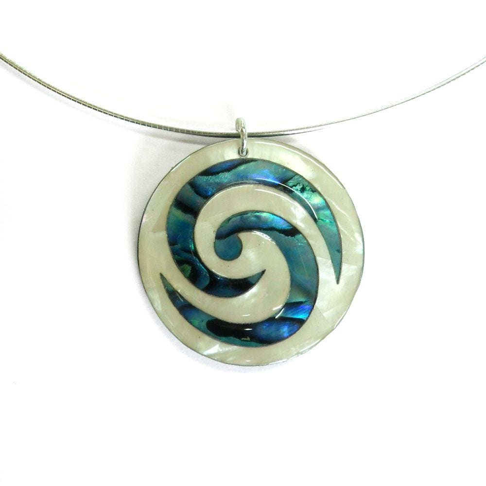 pendant by m with gardiner lrg koru interlocked tamihana catalog lewis artist ori two coloured index manaia