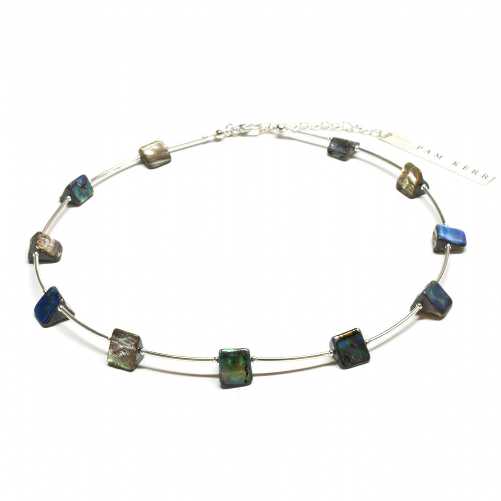 Paua Nugget Necklace - Global Culture