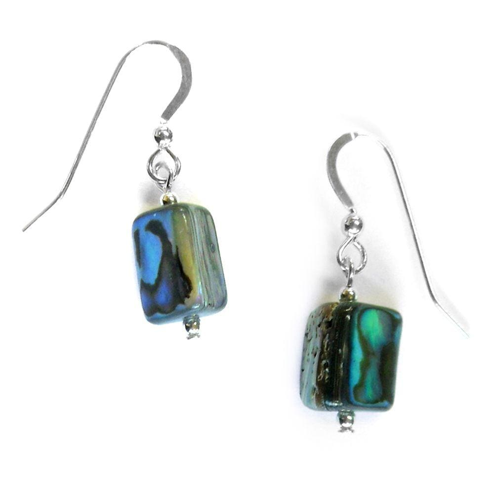 Load image into Gallery viewer, Paua Nugget Earrings - Global Culture