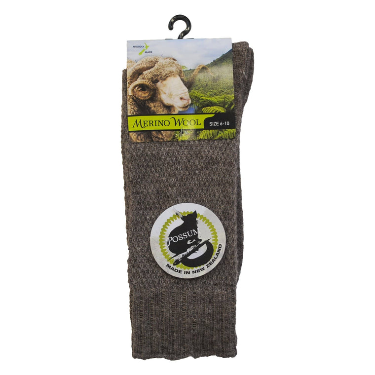 Possum Merino Wafer Socks