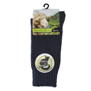 Possum Merino Wafer Socks - Global Culture
