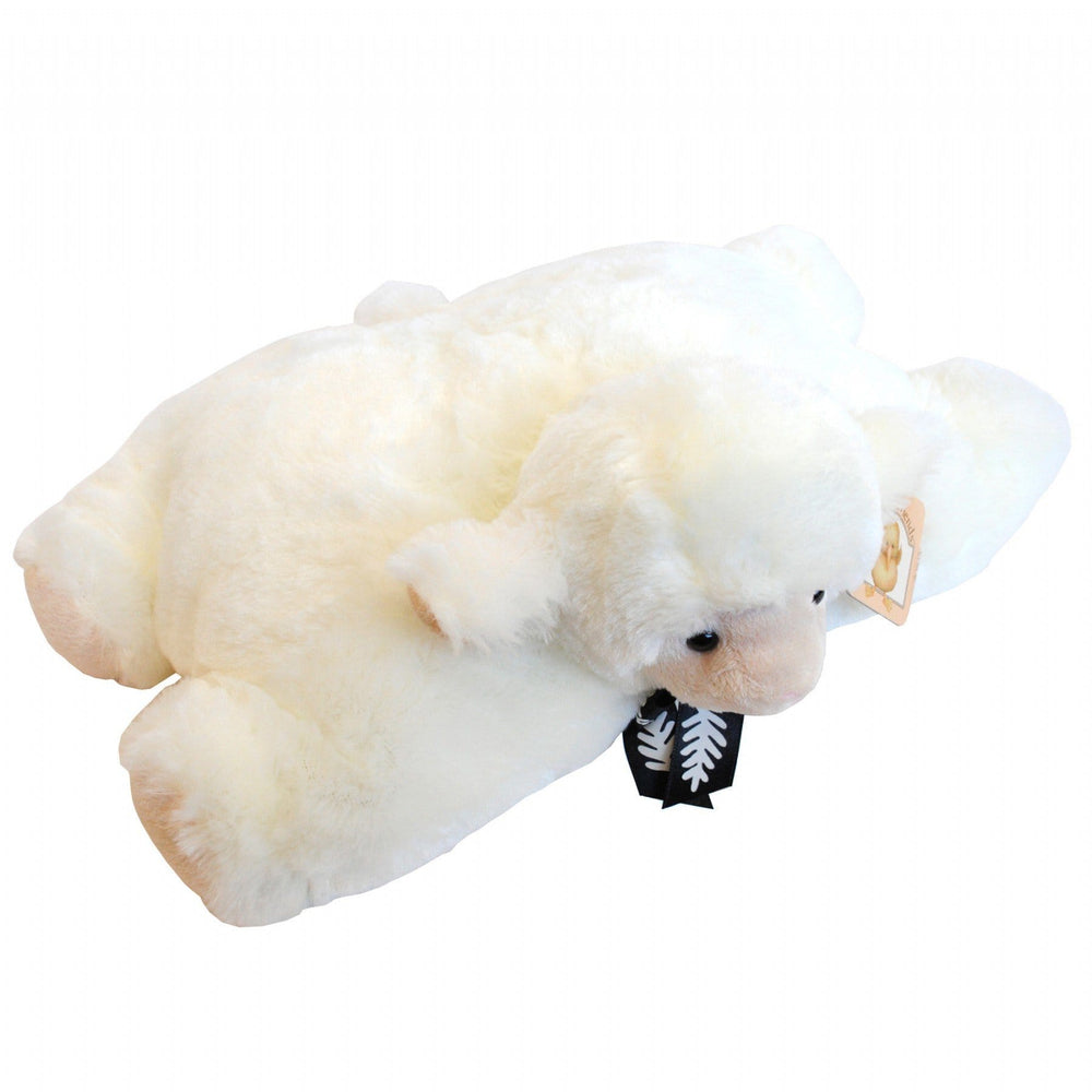 Sheep Pillow 22CM Black Bow - Global Culture