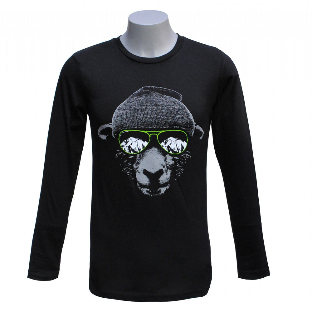 Sheep Shades Long Sleeve Mens T-Shirt - Global Culture