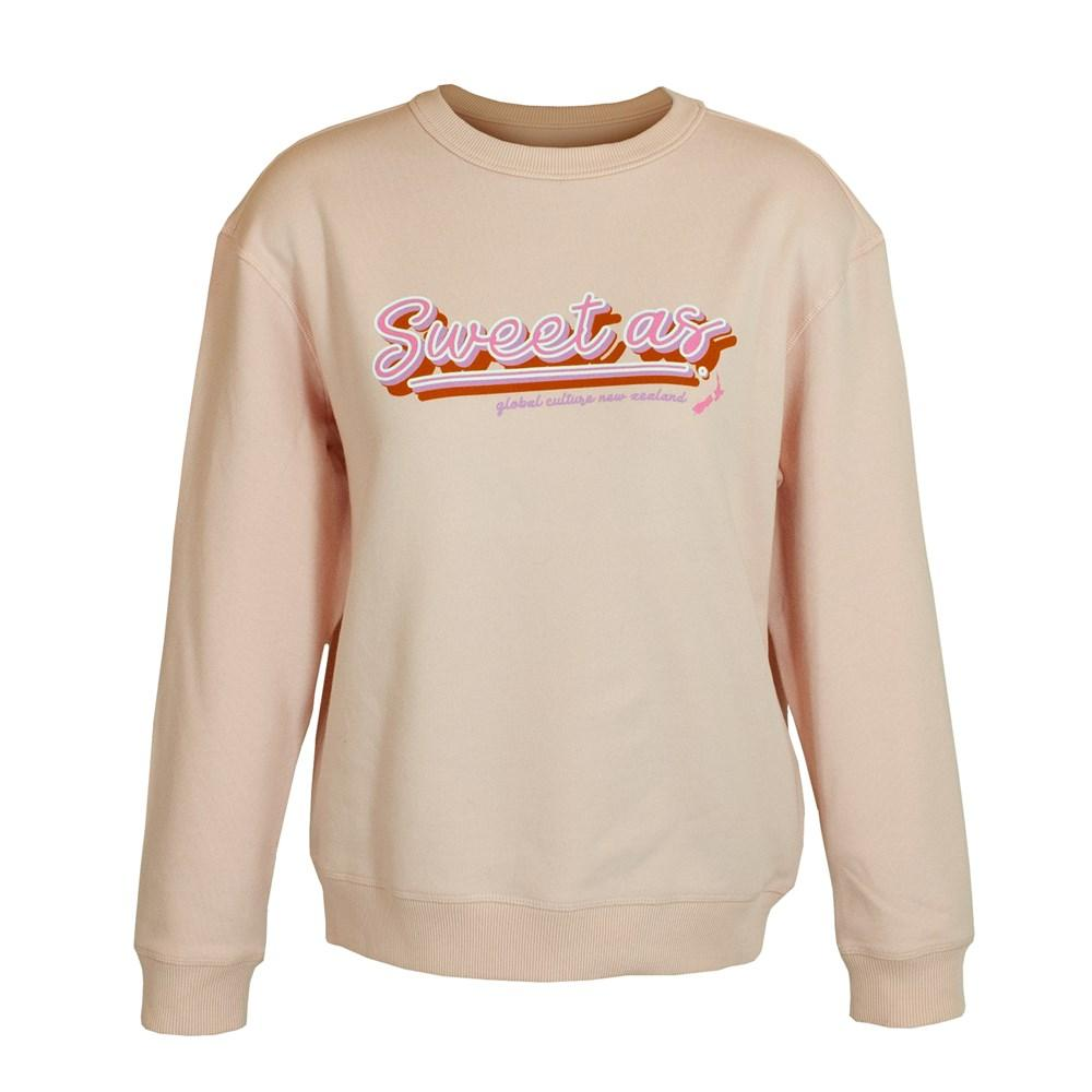 Sweet As Womens Sweatshirt - Global Culture
