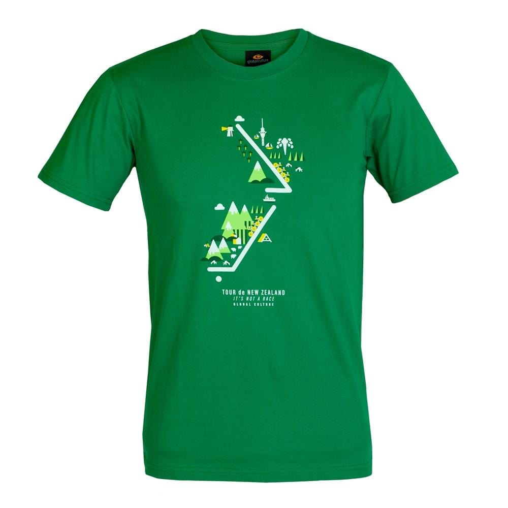 Tour de NZ Mens T-Shirt