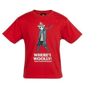 Where's Woolly Kids T-Shirt - Global Culture