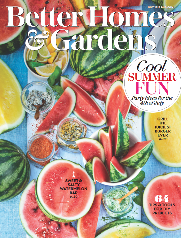 July 2018 Better Homes & Garden