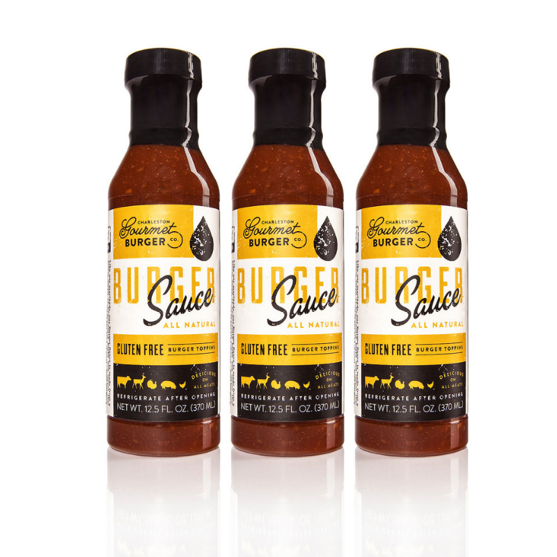 Charleston Gourmet Burger Sauce-3 Pack- Best Burger Sauce Ever