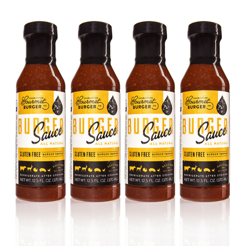 Charleston Gourmet Burger Sauce-4 Pack- Best Burger Sauce Ever