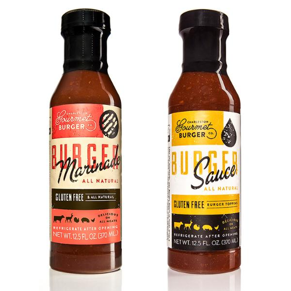Gourmet Burger Marinade and Sauce Two Pack
