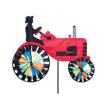 "Two Group - Red Tractor Interests - Everyday Applique Decorative Windwheel 20"" x 49"""