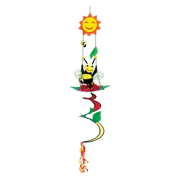 "Sunshine Bee - 14"" x 57"" Applique Twister Balls - TB188020"