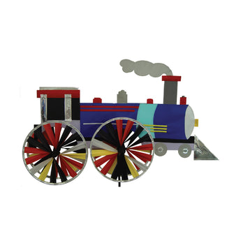 "Two Group - WW175012 Train Interests - Everyday Applique Decorative Windwheel 20"" x 49"""