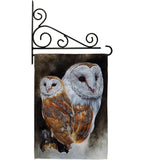 Lustrous - Birds Garden Friends Vertical Impressions Decorative Flags HG105040 Made In USA
